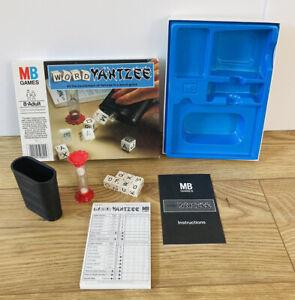 WORD YAHTZEE - MB GAMES 1979 - Complete - Vintage Game