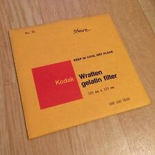 Kodak Filter No. 81 125x125mm - Wratten / Gelatine - Gelatin 5x5
