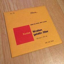 Kodak Filter No. 81 125x125mm - Wratten / Gelatine - Gelatin 5x5
