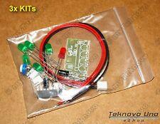 3x KIT KA2284 DIY LED Light Audio Level Indicator VU Meter FULL Parts - USA