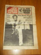NME OCTOBER 12TH 1974 ROLLING STONES DAVID BOWIE JETHRO TULL JOHN LENNON