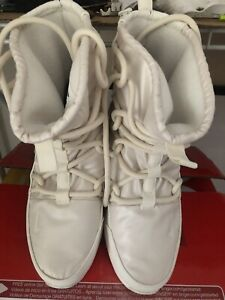 Nike Womens Tanjun Winter Boots AO0355 003 Cream Off White Size 8