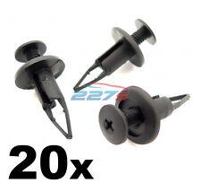 20x 9mm Plastic Trim Panel Clips- Bumper & Sill Moulding Clips- Toyota & Lexus