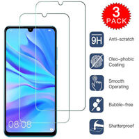 For Huawei P30 / P30 Lite Caseswill HD-Clear Tempered Glass Screen Protector X3