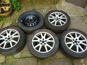 Mk1 Octavia VRS Alloy Wheels X4 And Steel Spare