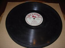TED MARTIN i'm always chasing rainbows / honey - 78 rpm de luxe 1006 -