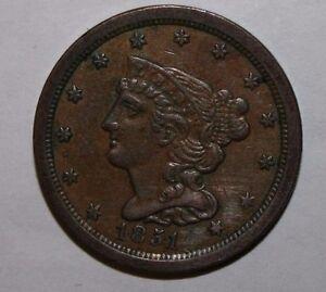 1851 US Half Cent V49