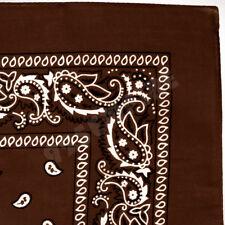 Lot of 3 6 12 Wholesale 100% Cotton Paisley Bandana Head Wrap