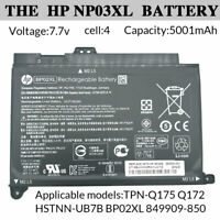 Genuine Laptop Battery 41Wh for HP BP02XL TPN-Q175 Q172 HSTNN-UB7B 849909-850