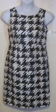 Target Limited Edition misses size 10 Black & white Sheath Dress j208
