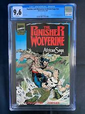 Punisher and Wolverine in African Saga #nn CGC 9.6 (1989) - Jim Lee cover