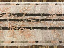 ALTER WOLL-TEPPICH WOLLE HANDGEKNÜPFT 75x196cm Nepal