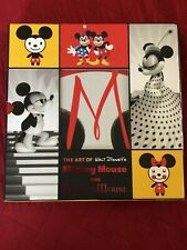 The Art of Walt Disney's Mickey Mouse and Minnie Mouse D23 Fan Club 2 Book Set!!