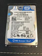 WD2500BEVT-75ZCT2, DCM DHNTJHBB, Western Digital 250GB SATA 2.5 Hard Drive