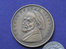 Hungarian Bronze Medal Of Kodály Zoltán,Szeged 1982