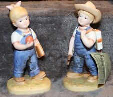 Homco Denim Days School Days #1513 Figurines