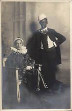 Preston Studio Photo. Pierrot & Black Face Entertainers by J.H.Jamieson, Preston