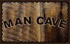 Rustic Man Cave Sign : Man cave rustic primitive home décor plaques signs ebay