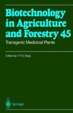 Transgenic Medicinal Plants (Biotechnology in Agriculture and Forestry)