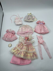 BARBIE DOLL SISTERS CLOTHING STACIE SKIPPER YOUTH TEAM PRETTY PINK DRESS