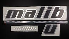"Malibu boat Emblem 27"" Epoxy Stickers Resistant to mechanical shocks"