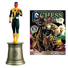 Eaglemoss Chess NEW * Sinestro * #83 Black Bishop DC Comics Forever Evil Villain
