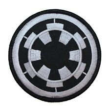 Disney Star Wars Imperial Cog Emblem Patch Officially Licensed Iron On Applique