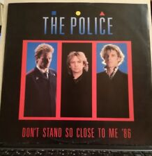 POLICE-DON'T STAND SO CLOSE TO ME,-DANCE MIX + Live version - E.P. 45 GIRI 1986