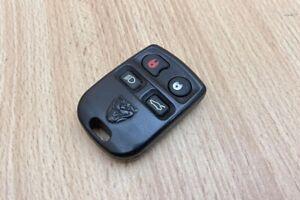 REMOTE FOB + PROGRAMMING INSTRUCTIONS - Jaguar XJ8 XK8 XJR XKR 2000-2006 #6040