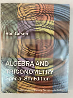 Algebra And Trigonometry Special 8th Edition Shrink Wrapped Book Punched Holes