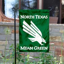 North Texas Mean Green Garden Flag Yard Banner