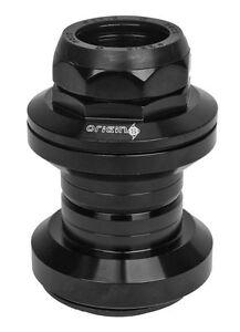 Bicycle Headset Origin8 Pro Threaded 1 Inch Cartridge Bearings Black Bike Parts