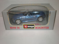 1/18 1996 BMW M Roadster blue / Burago