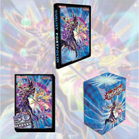 YUGIOH THE DARK MAGICIANS BUNDLE | SLEEVES, BINDER, DECK BOX | KONAMI OFFICIAL