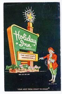 1965 Henderson, KY Postcard - Holiday Inn - Posted