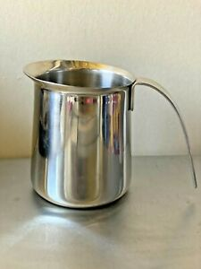 KRUPS 18-8 Stainless Steel Milk Frothing Pitcher Jug 12oz