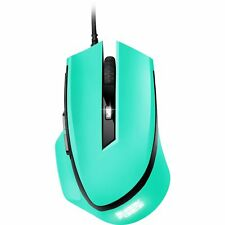 Sharkoon SHARK Force, Maus, optisch, 1600dpi, USB, 6 Tasten, mint