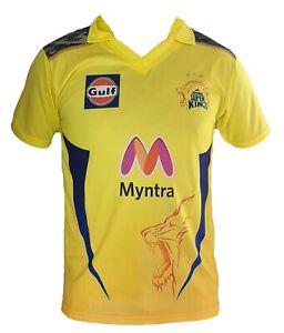 IPL Chennai Super Kings 2021 Jersey / Shirt, T20, Cricket India CSK VIVO