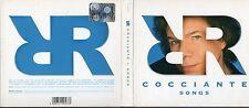 RICCARDO COCCIANTE CD + DVD Songs 2005 Pasquale Panella ENRICO RUGGERI digipack