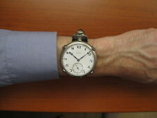 Wear your pocket watch on a wrist holder - fits elgin, hamilton, illinois !