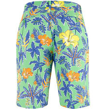 RLX RALPH LAUREN Floral PINEAPPLE Greens PORT ROYAL Golf Shorts ( 32 ) Free Ship