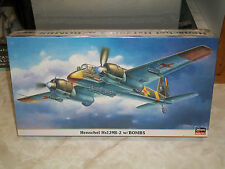 Hasegawa 1/48 Scale Henschel Hs 129B-2 w/Bombs - Factory Sealed