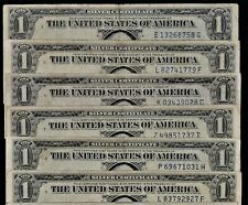 1935 Silver certificates, 25 compete nice Notes