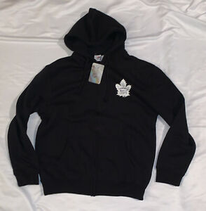 Men's Majestic Toronto Maple Leafs Full Zip Hoodie Jacket NWT XL