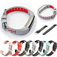 New!Accessory Hollow Wristband Watch Strap+Metal Buckle For Fitbit Alta/HR/Ace