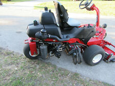 Toro 3250 Greensmaster Diesel Greens & Tee Reel Mower w/ Baskets #04383