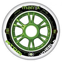 ATOM MATRIX OUTDOOR INLINE SKATE WHEEL 80, 84, 90, 100, OR 110MM