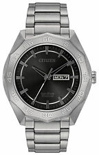 CITIZEN SUPER TITANIUM #AW0060-54H ECO-DRIVE MENS WATCH BRAND NEW IN BOX
