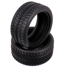 4pcs Rubber Tire RC 1/10 On Road Drifting Racing Car D: 63mm W: 26mm