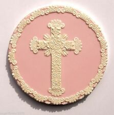 Large Cross Lace Set Patchwork Cutters Christening Communion FAST DESPATCH